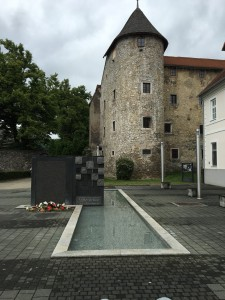 Ogulin Castle & a treacherous fountain for unsuspecting wanderers