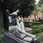 Headstone in Zagreb's Mirogoj cemetery