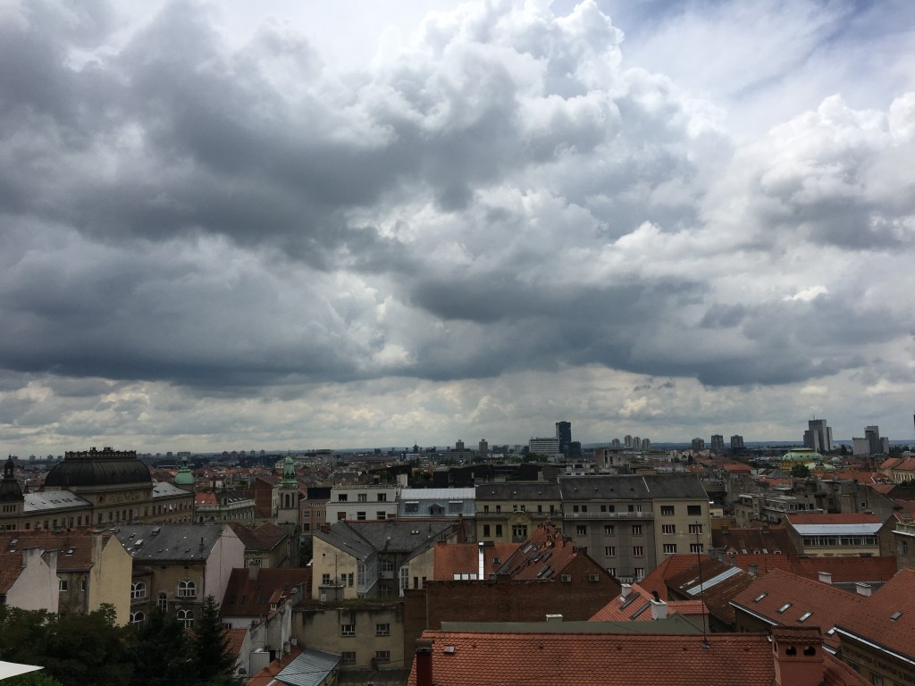View of Zagreb