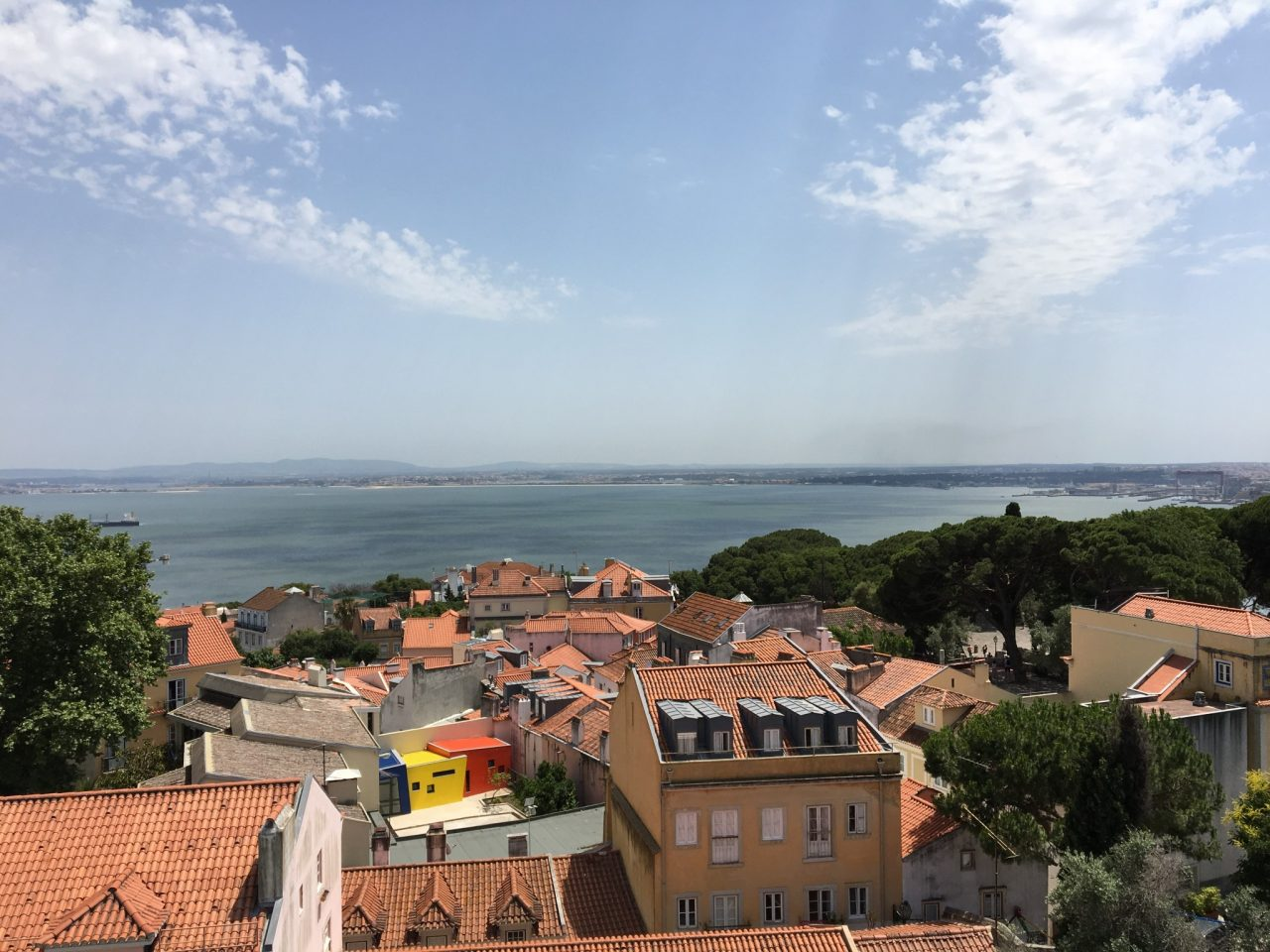 View of Lisbon from Sao Jorge