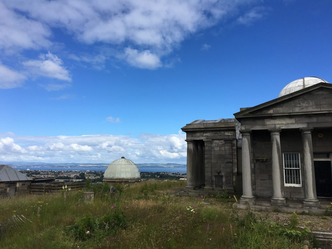 Old observatory on a hill