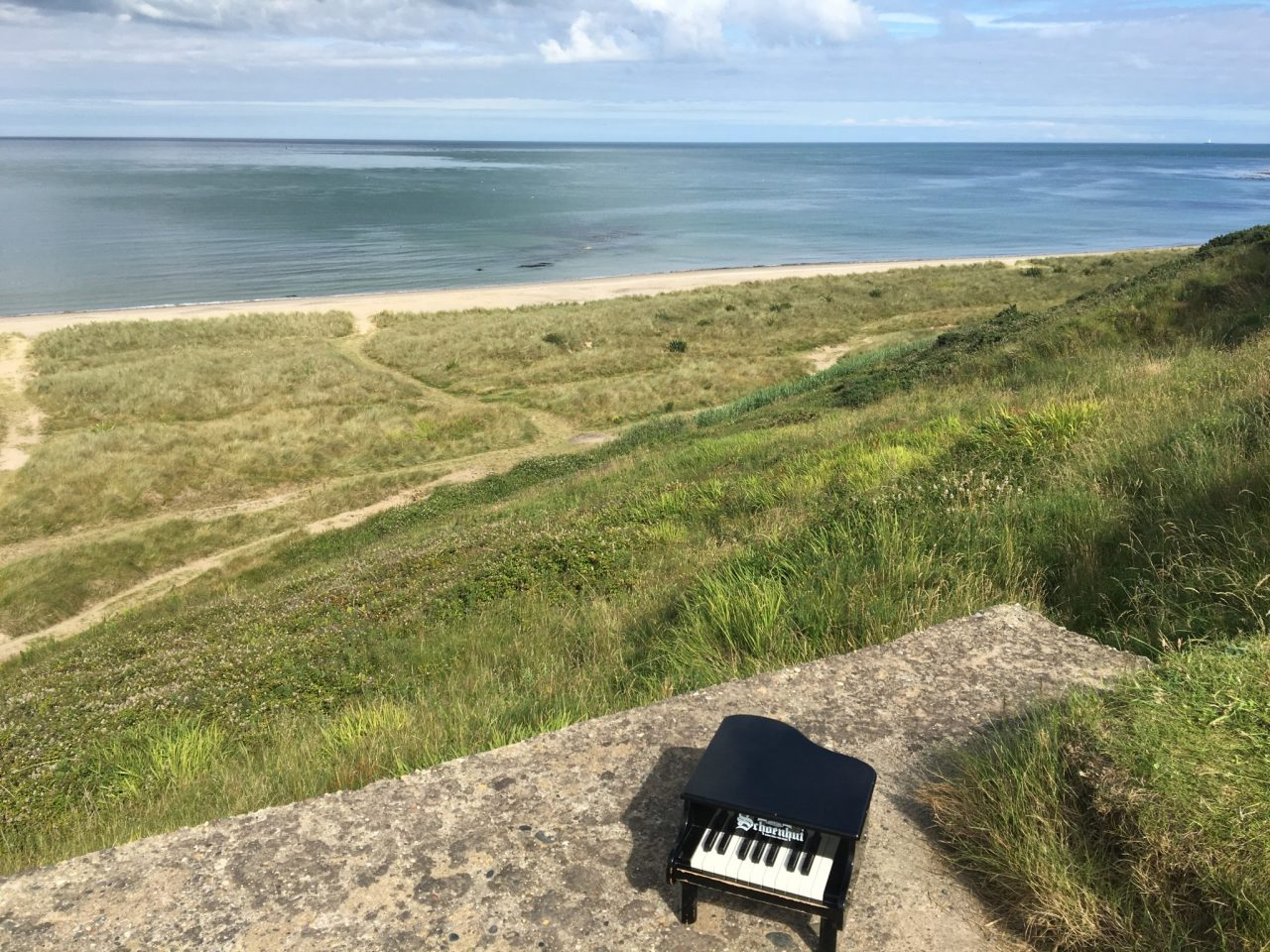 Rosslare and a toy piano